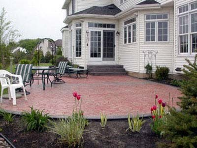 Stamped Concrete Patios Solid Ground Concrete Inc Buffalo Ny
