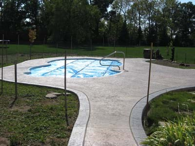 concrete pool deck gallery solid ground concrete, inc. buffalo ny