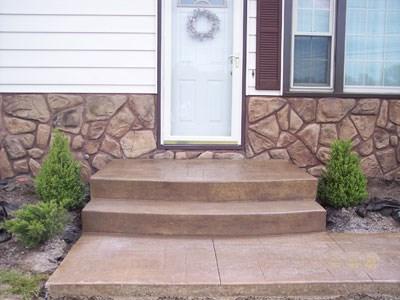 concrete steps gallery